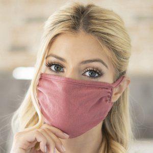 Dusty Rose Face Mask